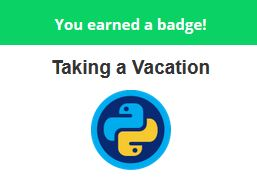 badge_Taking_a_vacation